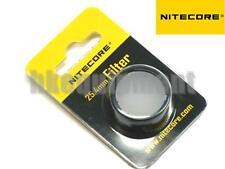 NiteCore NFD25 25.4mm White Lens Cap Diffuser Filter EA1 EA2 EC1 MH1A Flashlight