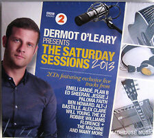 DERMOT O'LEARY CD x 2 The Saturday Sessions 2013 exclusive Tracks  Ed Sheeran