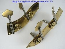 Strong double bass machine head pegs 4/4&3/4,unite style,double bass part