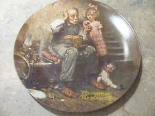 Norman Rockwell Heritage Collection Plates...set of 3...1978...1979..and 1980