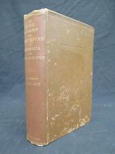 THE RURAL ECONOMY AND AGRICULTURE OF AUSTRALIA AND NEW ZEALAND 1891 Wallace U307