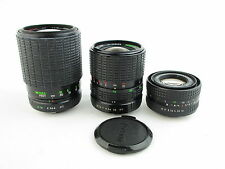 x Objektiv lens für Praktica B Pentacon Prakticar 1.8/50 70-210mm 35-70mm MC