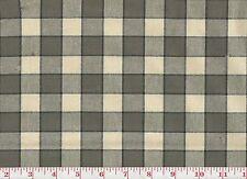 Plaid Drapery Upholstery Fabric fr Portugal PK Lifestyles Hanover Plaid Graphite
