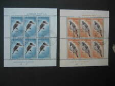NEW ZEALAND USED MINIATURE SHEET-1960 HEALTH PAIR SG 804b