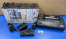 Sega Master System 2 Console And 12 Games Alex Kidd Built In