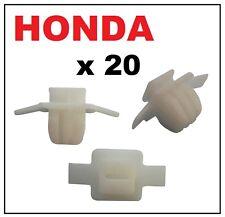 20 X HONDA CIVIC & CRV PASSARUOTA stampaggio tagliare clip di fissaggio