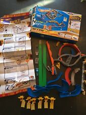 Hot Wheels Wall Tracks Loop & Stunt Track Set Discontinued 100% Complete READ!!!