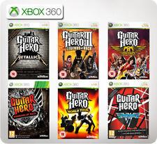 Guitar Hero Metallica/Aerosmith/Legends of Rock/Van Halen XBox 360 *Multi list*