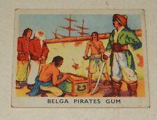 Image CHROMO BELGA PIRATES Gum N°62 : Le payement de la rançon