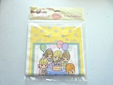 Vintage Precious Moments Party Favor Bags Plastic 8 Pack NEW