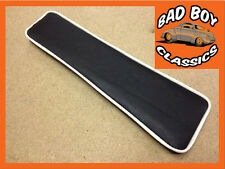 MGB Armrest Pad For Centre Console Black / White Piping