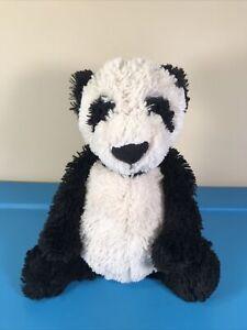 """Jellycat Bashful Panda Bear Cub Medium 12"""" Stuffed Animal Plush"""