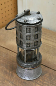 L560- Vintage Coal Miner's Koehler 209 Permissible Flame Safety Lamp Lantern