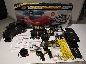 TYCO Lamborghini Championship Magnum 440-X2 Slot Car Electric Racing Set