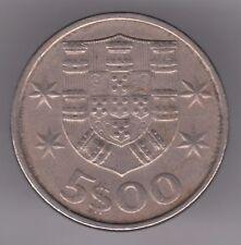 PORTUGAL 5 escudos 1983 cuivre-Nickel Coin-Navire