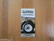 BMW 316,318I,320,323I MODELS BROCHURE PROSPEKT FOLDER 1983 FOLDED