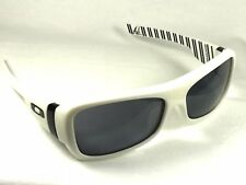 NEW Oakley Montefrio - Sunglasses White Pinstripes / Grey 30-689  RARE
