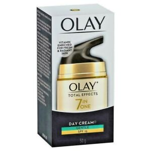 OLAY TOTAL EFFECTS 7 IN ONE DAY CREAM GENTLE SPF 15 50 G