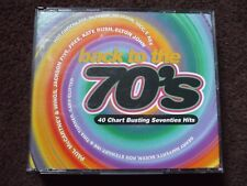 VA - Back To The 70's Double Fatbox CD.Queen,Wings,Nilsson,BTO,Free,Slade..VGC