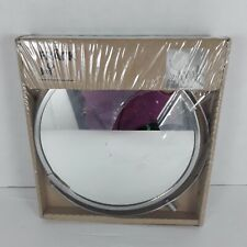 IKEA FRACK Wall Mount Bath Bathroom Magnifying Mirror Stainless Steel