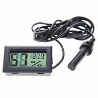 Digital LCD Thermometer Hygrometer &be-Reptile Tool S3J6