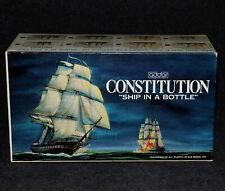 Addar Model Kit Navy 1975 Ship in a Bottle Constitution MIB
