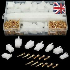 Motorcycle Car Electrical Auto Connectors Terminal 2.8mm 2/3/4/6 Pin Wire 40 Set