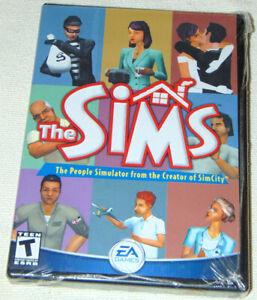 The Sims 1 Original PC Game  2000 2002 EA People Simulator.. NEW