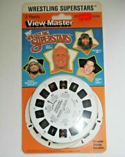 * SEALED * WWF WRESTLING SUPERSTARS 1985 VIEWMASTER REELS SET 4067 RARE   G363
