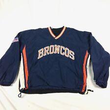VTG Mens M Denver Broncos Starter Proline Reversible Jacket Coat Football NFL