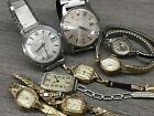 Vintage Watch Lot Waltham Seiko Elgin REPAIR