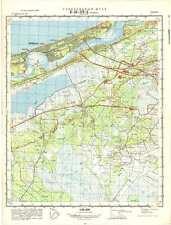 Russian Soviet Military Topographic Maps - JŪRMALA (Latvia), 1:50 000, ed.1972