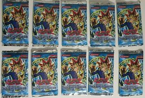 10 YuGiOh LOB Legend of Blue Eyes Booster Packs 1st Edition VINTAGE SEALED
