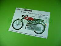 Alter Moped Prospekt ciclomotor DERBI Antorcha Super 49 cc; Spanien, Motorrad