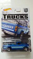 '16 HOT WHEELS FORD F-250 NEW IN BOX CAR CULTURE TRUCKS SERIES