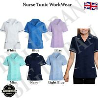 Ladies Healthcare Nurses Tunic Beauty Medical Dental Vet Carer Uniform Therapist