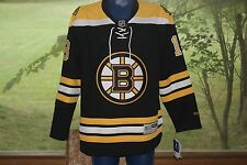 Reebok NHL Boston Bruins Smith Authentic Jersey M Black Yellow