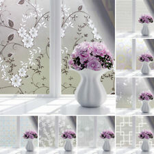 PCV Frosted Glass Window Privacy Self Adhesive Film Sticker Bedroom Bathroom