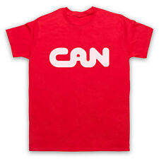 CAN KRAUTROCK ELECTRONIC ROCK UNOFFICIAL T-SHIRT MENS LADIES KIDS SIZES AND COLS