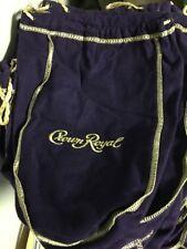 Crown Royal Bags lot of 50 750 ml large purple gold trim bags storage crafts