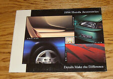Original 1994 Honda Accessories Deluxe Sales Brochure 94 Civic Accord Prelude