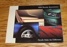 Original 1994 Honda Accessories Sales Brochure 94 Civic Accord Prelude