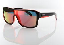 Carve Anchor Beard Matt Black/Red Iridium Polarized Unisex Sunglasses