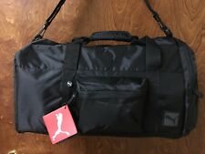 "Puma black 21"" duffel bag ""Rotation"""