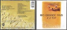 CD 10T ZZ TOP RIO GRANDE MUD GERMANY  Warner Bros. Records ‎– 7599-27380-2