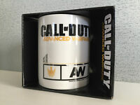 BNIB Genuine Call Of Duty Advanced Warfare Gift Boxed Smart White Coffee Mug