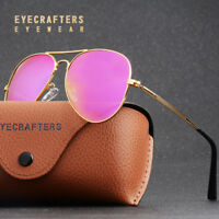 042eeac653d Polarized Sunglasses Mens Womens Mirrored Coating Lens Retro Sunglasses  UV400 2