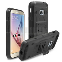 Hybrid Hard Armor Holster Case Kickstand Clip Cover For Samsung Galaxy Xcover 4