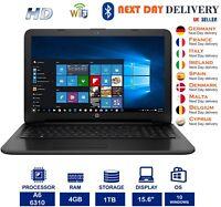 """HP 255 G4 15.6"""" Notebook PC AMD A6 1.80Ghz 4GB RAM 1TB HDD Windows 10 Radeon R4"""