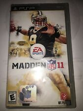"Madden NFL 11 ""New Factory Sealed"" (PSP) Complete"